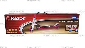 Самокат Razor Kick S, розовый, R13073051, фото
