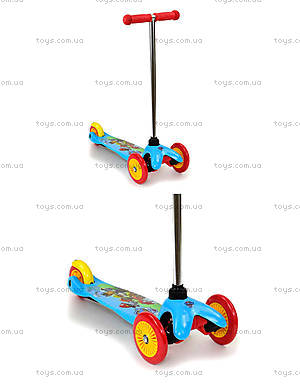 Самокат «Щенячий Патруль» колёса PVC, TK10001