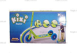 Самокат-трансформер Razor Kixi Mixi, зелено-голубой, R20073641, фото