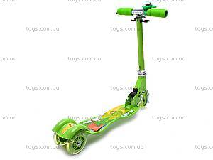 Самокат трехколесный для девочек, YJ-248, цена