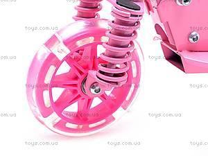 Самокат трехколесный с подсветкой колес, JP-BT6083, отзывы