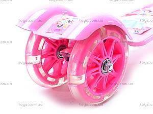 Самокат трехколесный с подсветкой колес, JP-BT6083, игрушки