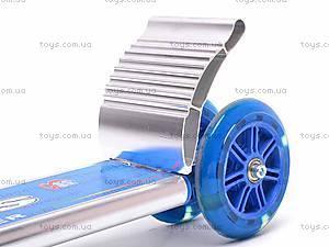 Самокат трехколесный с полиуретановыми колесами, 611, купить