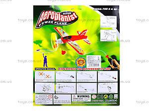 Детская игрушка «Самолет» с запуском, 096B-1, фото