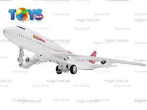 Самолет детский инерционный, А380-60/68/78, фото