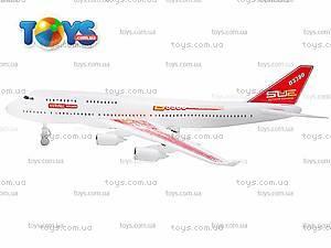 Самолет детский инерционный, А380-60/68/78, цена