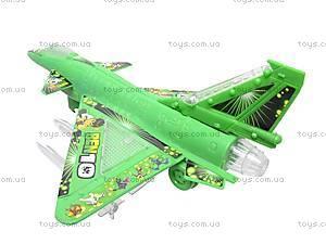 Самолет детский музыкальный Ben 10, 58522, фото