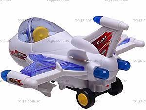 Самолет детский со световыми эффектами, 819, купить