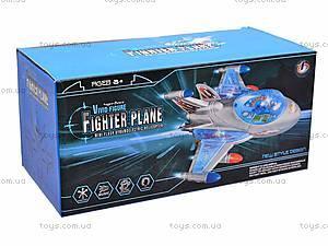 Самолет детский со световыми эффектами, 819, отзывы