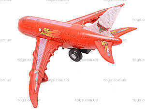 Самолет игрушечный «Тачки», SY757, детские игрушки