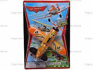 Самолет инерционный детский «Летачки», 502-7A, фото