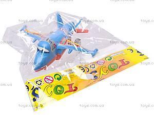 Самолет «Летачки» для малышей, 832-15, игрушки