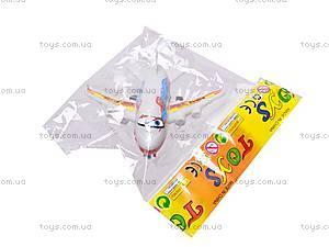 Самолет «Летачки» для малышей, 832-15, детские игрушки