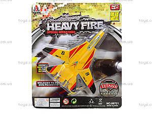 Игрушечный самолет Heavy Fire, 89721, фото