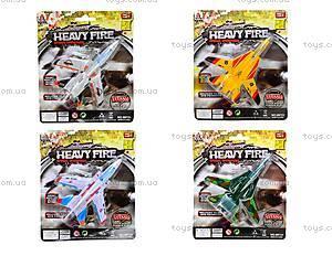 Игрушечный самолет Heavy Fire, 89721