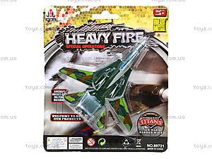 Игрушечный самолет Heavy Fire, 89721, детские игрушки