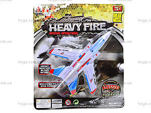 Игрушечный самолет Heavy Fire, 89721, детский