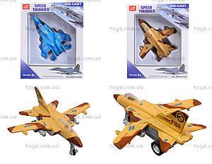 Детский игрушечный самолет Speed Thunder, 8869-4, цена