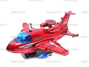 Самолет музыкальный игрушечный, 781, купить