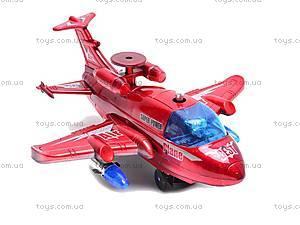 Самолет музыкальный игрушечный, 781