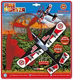 Самолет с пусковой установкой FIRE FIGHTER, 1636, игрушки