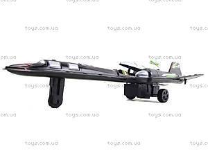 Детский инерционный самолет Pawer, 2028-3, игрушки