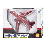 Самолет инерционный красный, F1611, отзывы