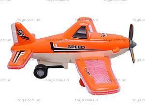 Самолетик музыкальный игровой, 3266, фото