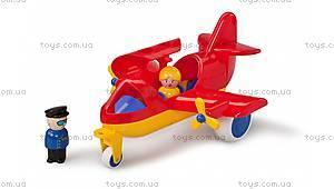 Самолетик игрушечный с человечками, 1270
