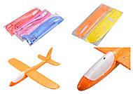 Самолёт со светом 5 цветов, C33807