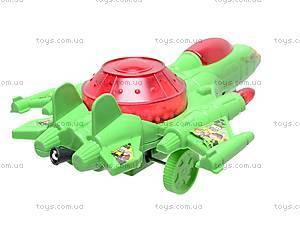 Самолёт инерционный Ben10, 388, детские игрушки