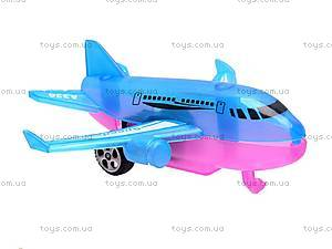 Самолёт инерционный, в четырех видах, 0938B-1