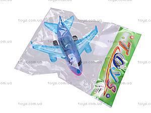 Самолёт инерционный, в четырех видах, 0938B-1, игрушки