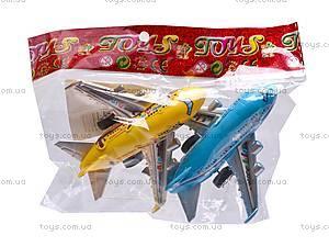 Самолётики инерционные, 2 вида, 399-183, цена