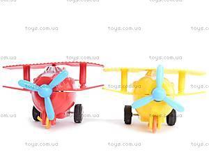 Самолётики инерционные в двух видах, 399-603, toys