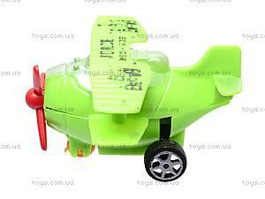 Самолётики инерционные в двух видах, 399-603, детские игрушки