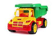 """Машинка """"Самосвал Атлант"""", желтый, 1011, магазин игрушек"""