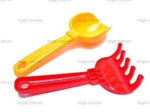 Самосвал «Тотошка», с лопатками и граблями, 0169, купить