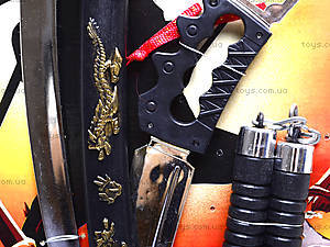Самурайский набор оружия «Ниндзя», 84058421, купить