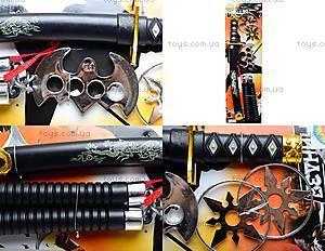 Игровой самурайский набор «Ниндзя», 84118424