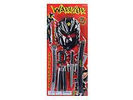 Самурайский набор оружия с маской , RZ1197
