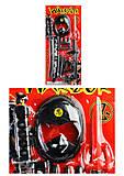 Набор оружия самурайский, RZ1211, детские игрушки