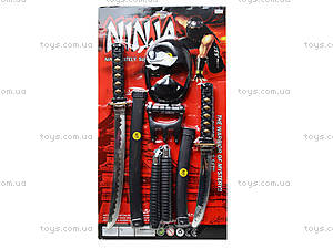 Самурайский набор оружия Ninja, RZ1217
