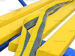 Санки «Комета Патриот», желто-голубые, 7270, цена