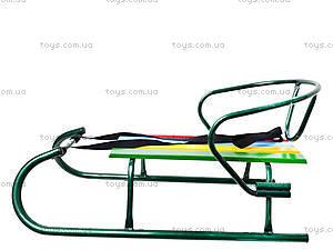 Санки «Овен», зеленые, 7350, toys.com.ua