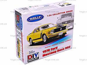 Сборная модель машинки Ford Mustang, 22088KB, купить