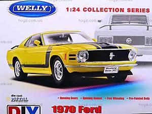 Сборная модель машинки Ford Mustang, 22088KB, магазин игрушек