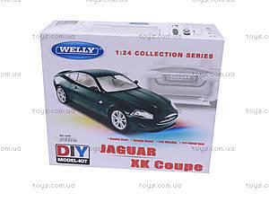 Сборная модель машинки Jaguar, масштаб 1:24, 22470KB