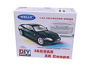Сборная модель машинки Jaguar, масштаб 1:24, 22470KB, купить