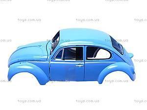 Сборная модель машинки Volklswagen Beetle, 22436KB, детские игрушки